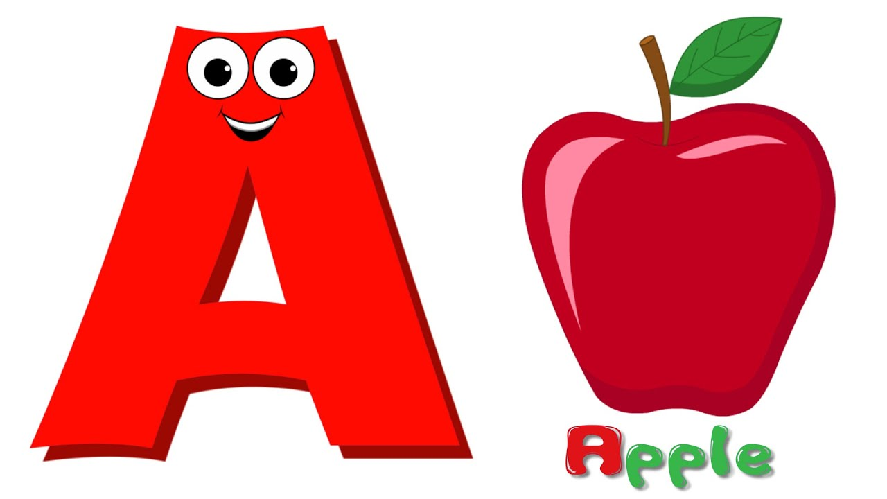 a_for_apple_letter_images