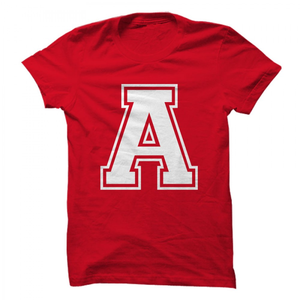 a_letter_on_tshirt_images